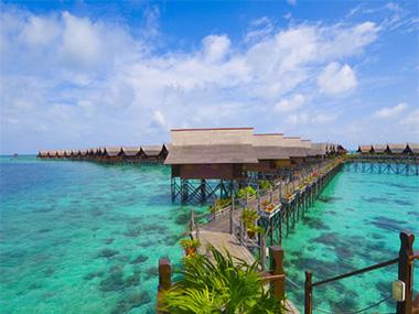 Sipadan kapalai dive resort pulau sipadan island sabah - Sipadan dive resort ...